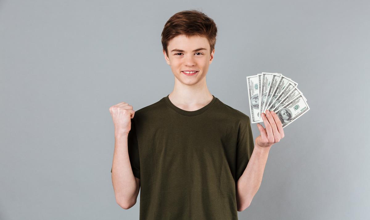 کسب درآمد در نوجوانی